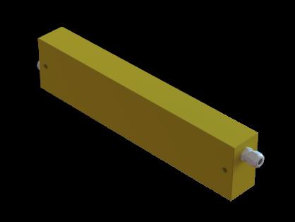 Produktbild: Hochspannungsdämpfungs- und Ableitwiderstand HDW 08/01